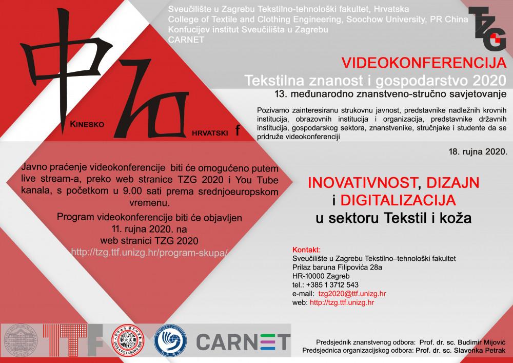 Videokonferencija TZG 2020 - Live stream