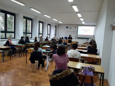 Prijem studenta u SJ Varaždin uoči nove akademske godine