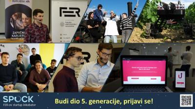 Otvorene su prijave za 5. generaciju FER-ovog startup inkubatora SPOCK