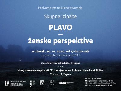 Izložba Plavo-ženske perspektive u MSU!