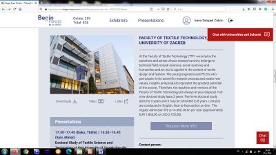 Prezentacija doktorskog studija Tekstilna znanost i tehnologija na sajmu Euroasia