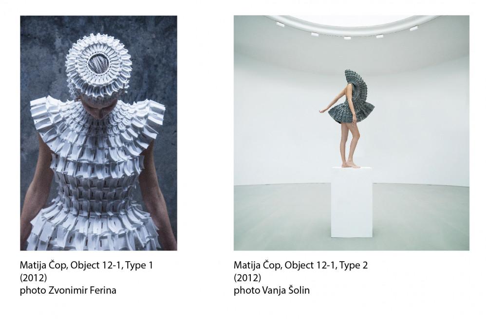 Dva odjevna produkta iz 2012 u stalnom postavu Centra Pompidou