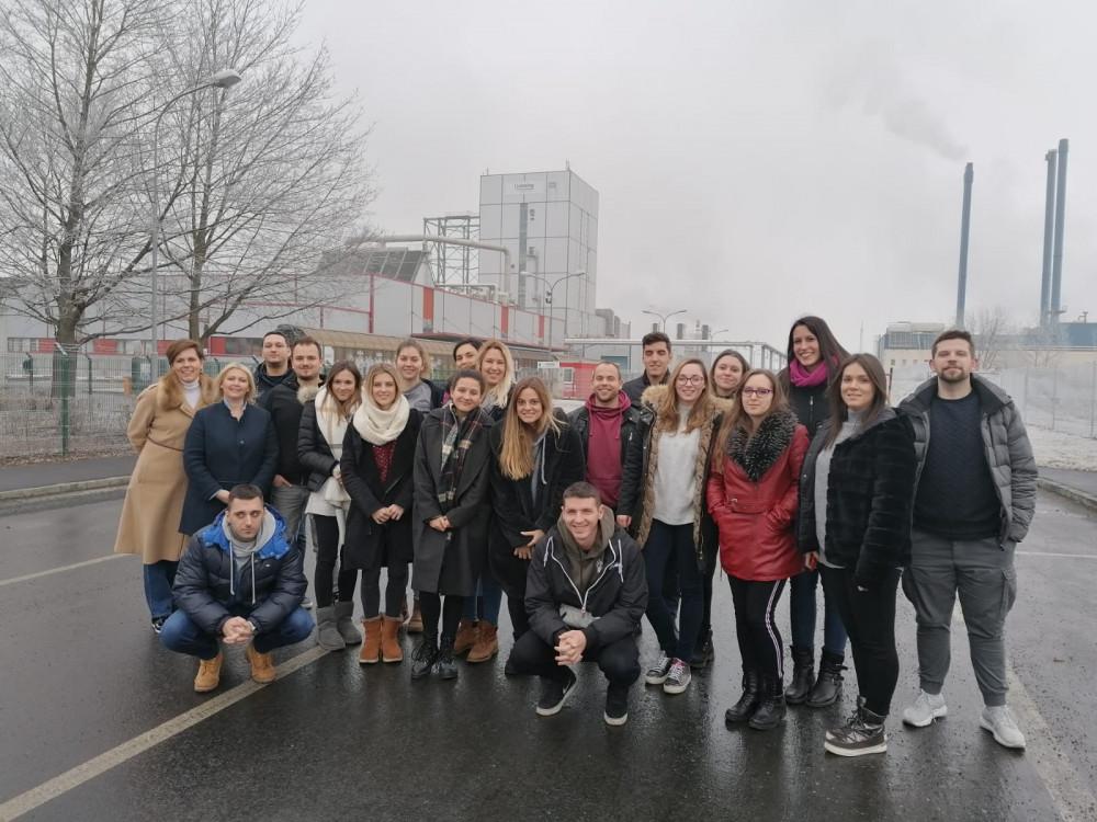 Studenti i nastavnici u posjetu tt. Lenzing Fibres GmbH (Austrija)