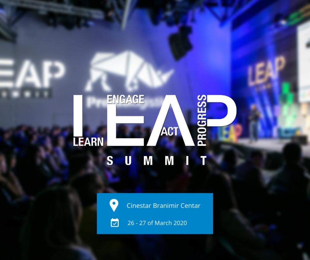 Poziv studentima za sudjelovanje na LEAP Summit 2020